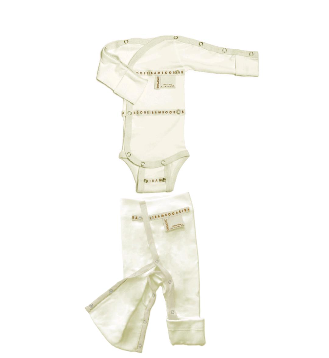 sustainable organic gift set mom baby newborn babyshower