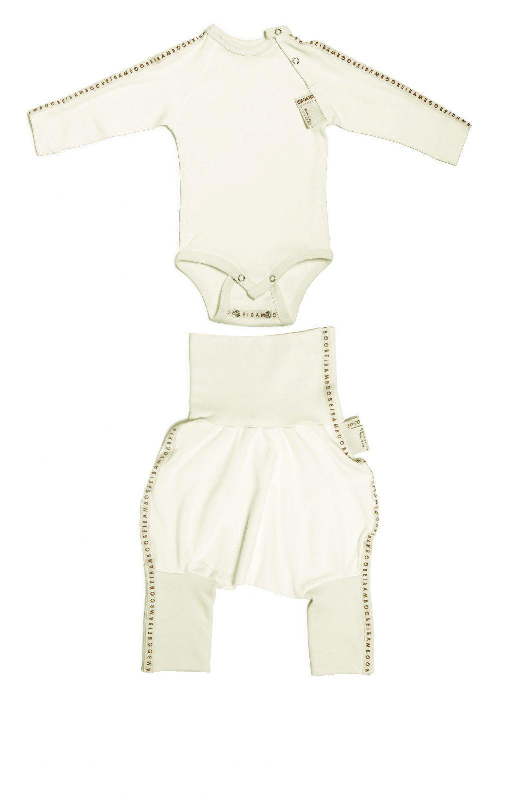 9c4b1192ba3 SET Baby Grow(Overhead) Trousers - Baby Clothing - B E I B A M B O O