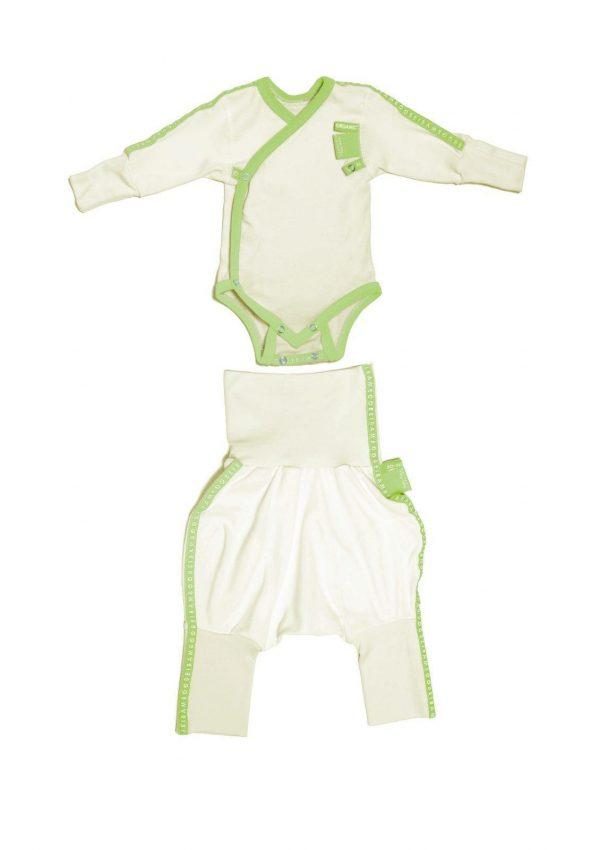 Baby clothing gift set green