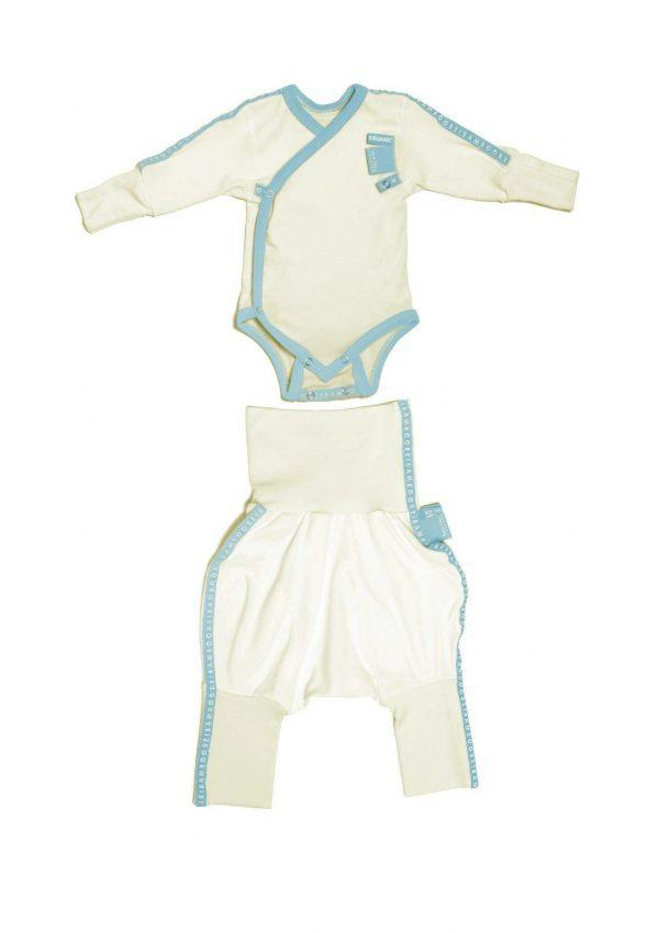 Baby clothing gift set blue